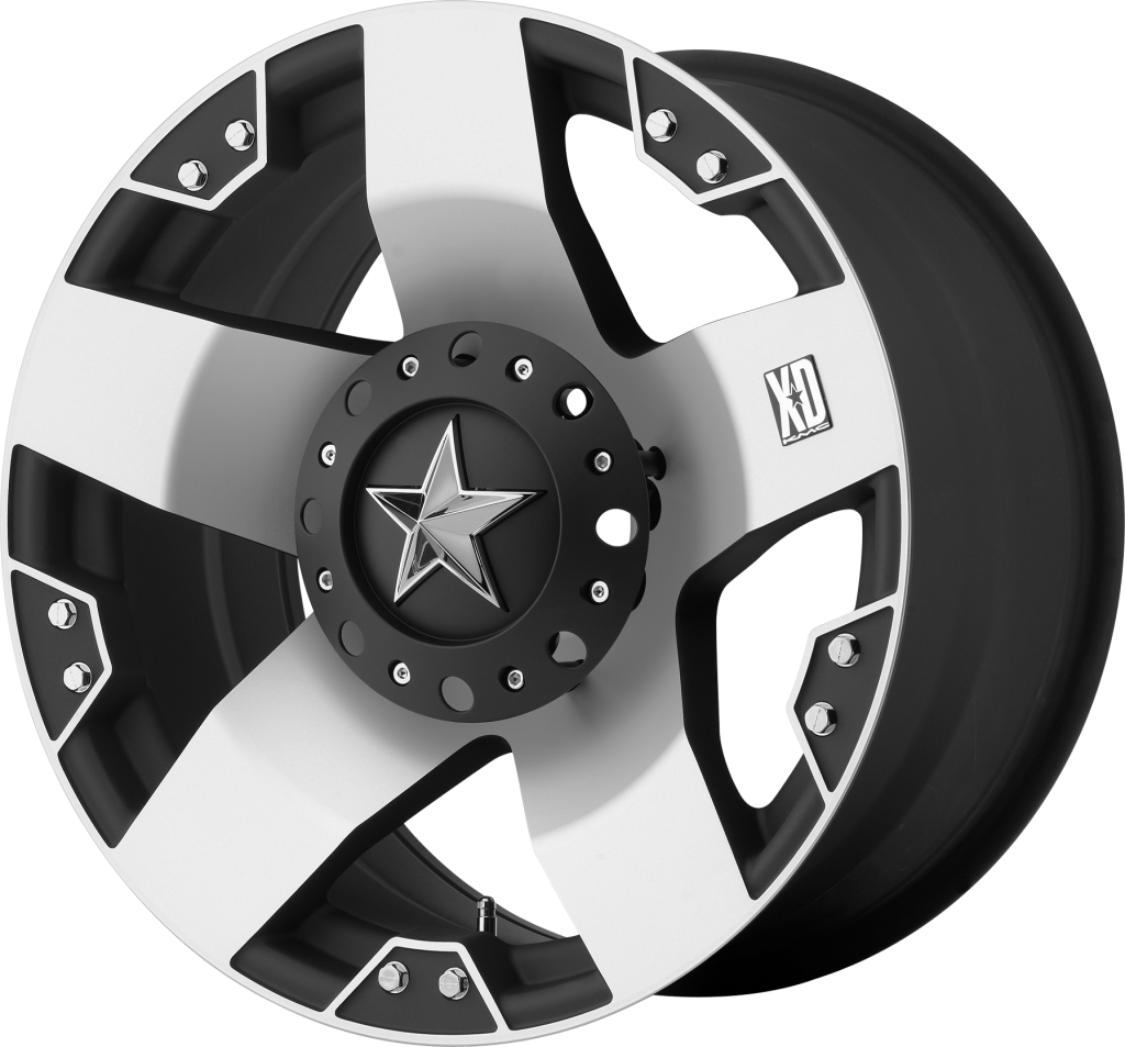 XD Wheels Replacement Sticker XD775 Rockstar Wheel Spoke